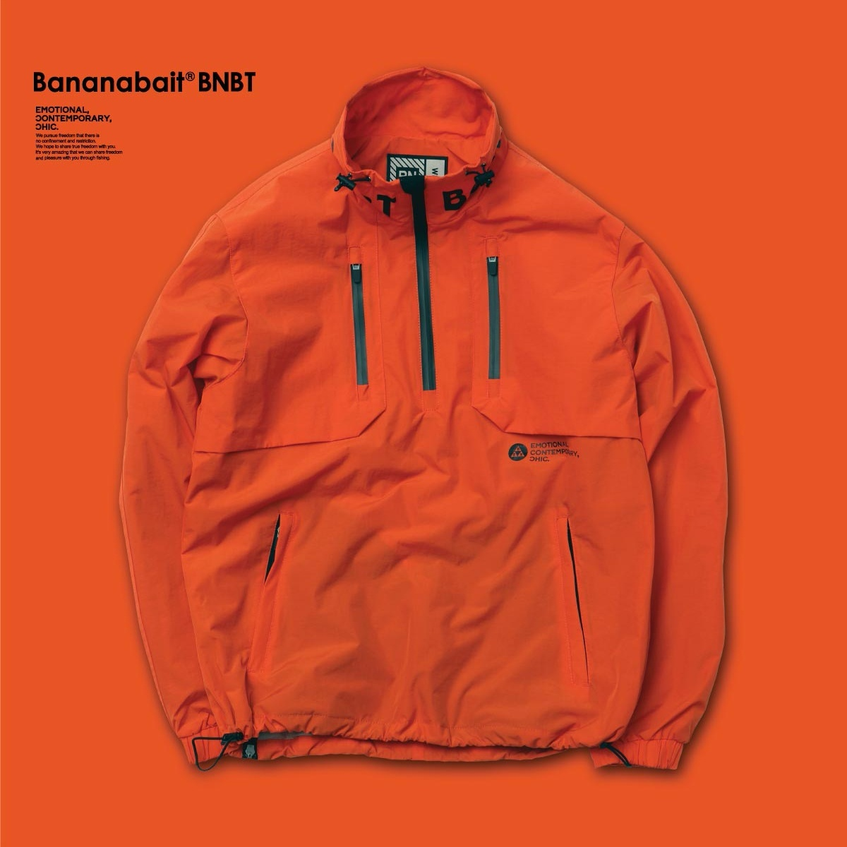 【Banana Bait】Banana Bait IGNITE Windbreaker JKT / Orange