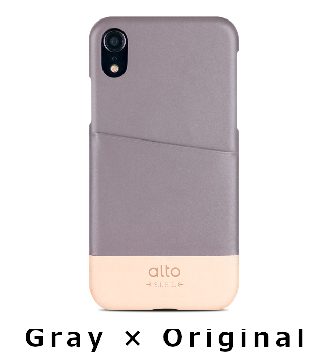 【XR対応】alto Metro for iPhone XR case