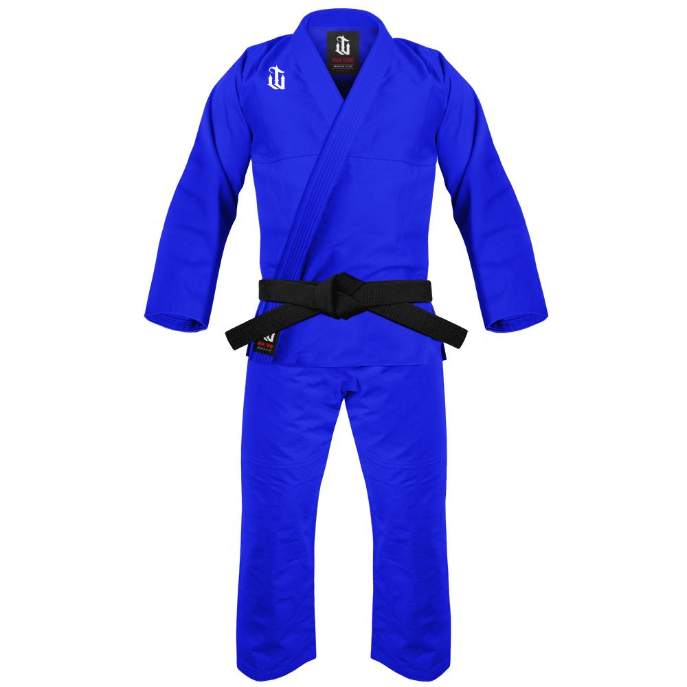 予約注文受付中! WAR TRIBE ALPHA JIU JITSU GI ブルー 柔術衣