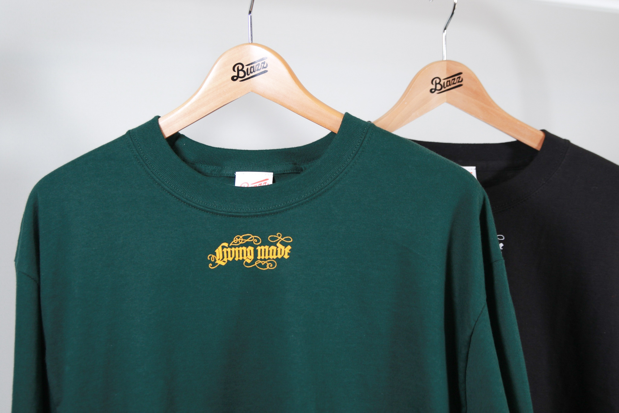 LIVING MADE TATTO L/S TEE [GREEN]