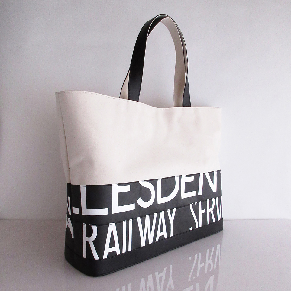 Tote Bag (L) / White  TLW-0012