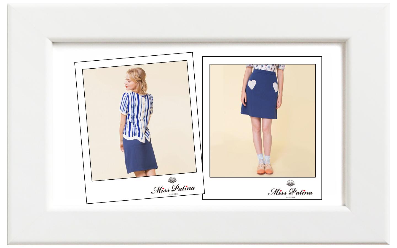 Miss Patina/ミス・パティーナ The Marina スカート