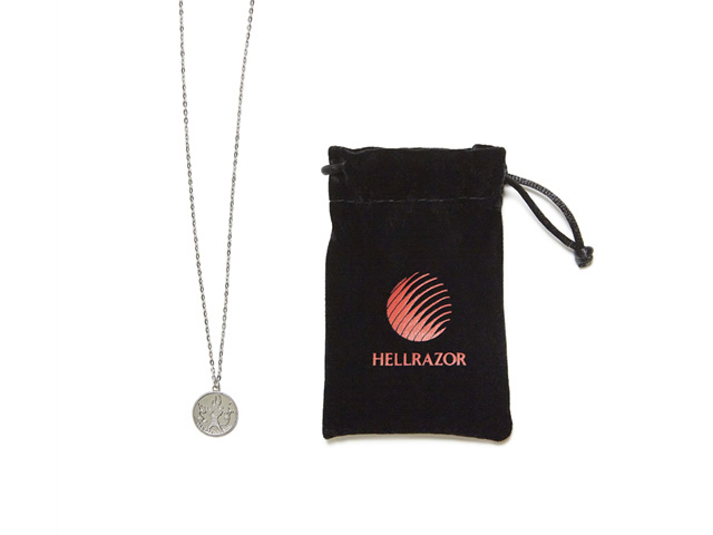 HELLRAZOR|THANK YOU TOKYO CHAIN (STERLING SILVER)