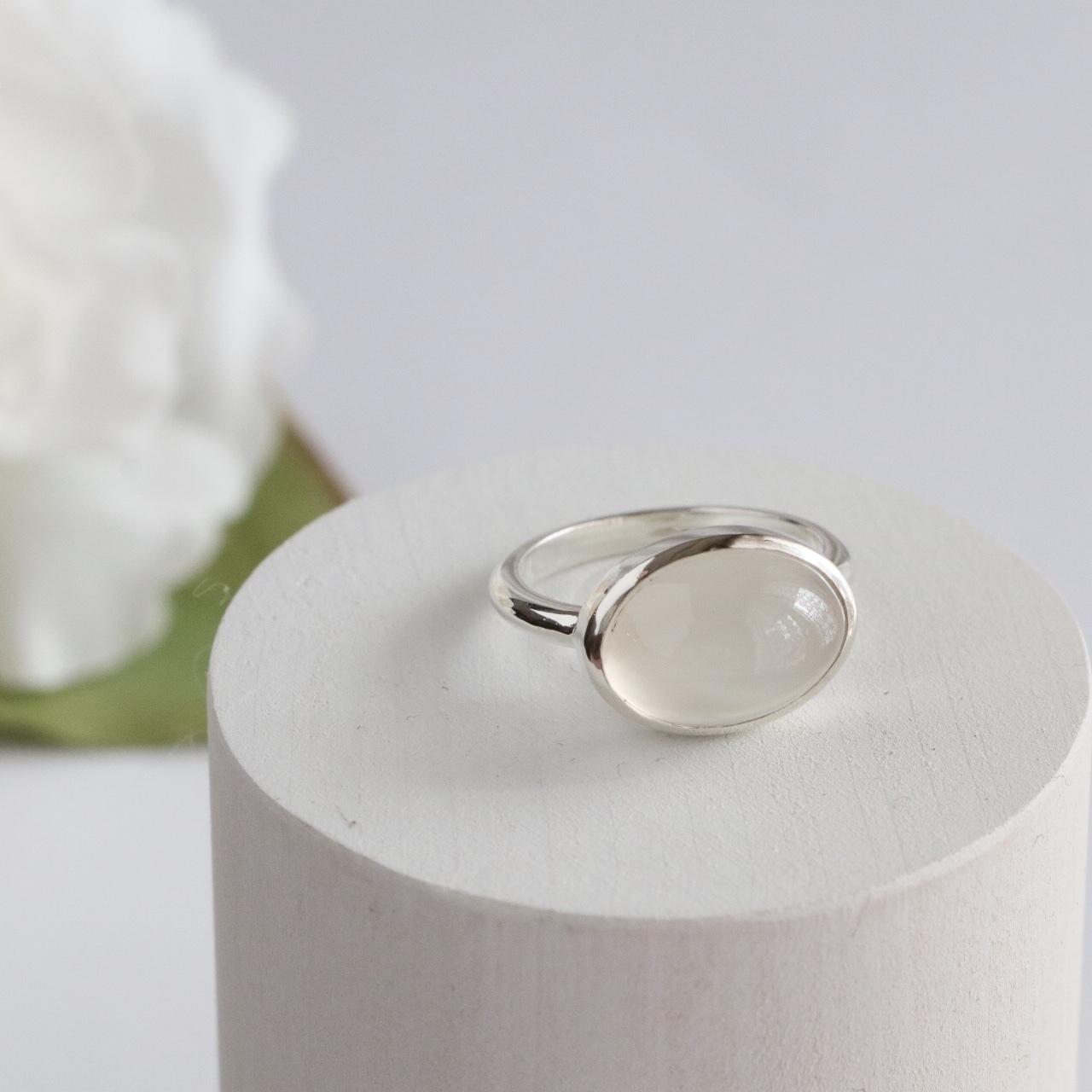 Moonstone Ring ✧silver925 ✧
