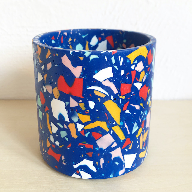 "EMILY MARLIN ""Royal Pot (Blue)"""