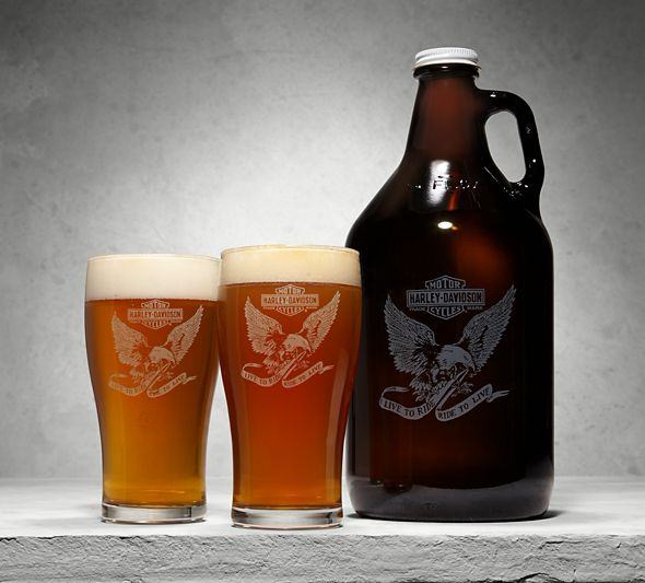 Growler & Pint Glasses