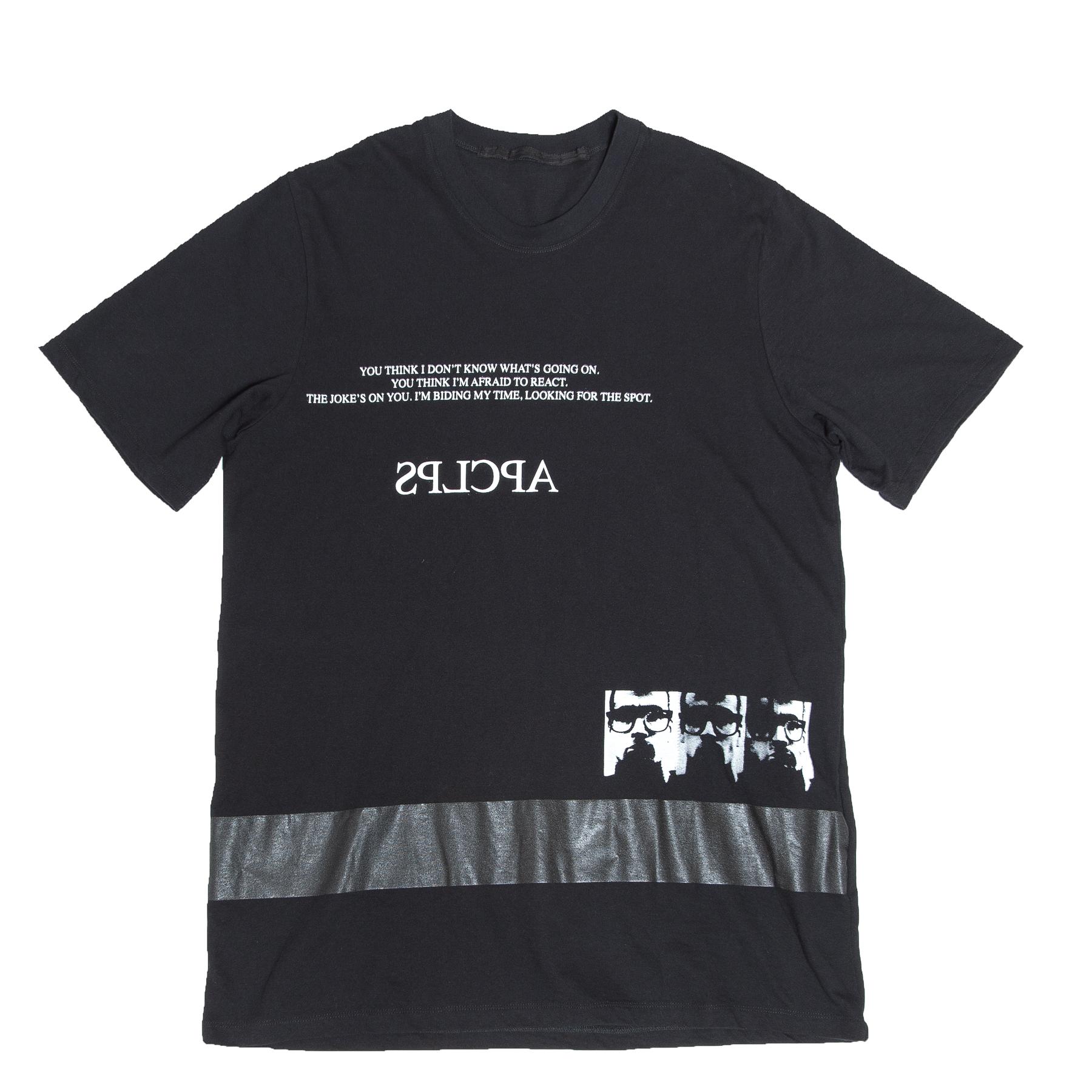 617CPM22-BLACK / APCLPS T-シャツ