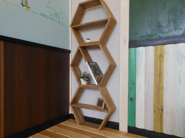 【6角形シェルフ】(展示使用品) - 画像2