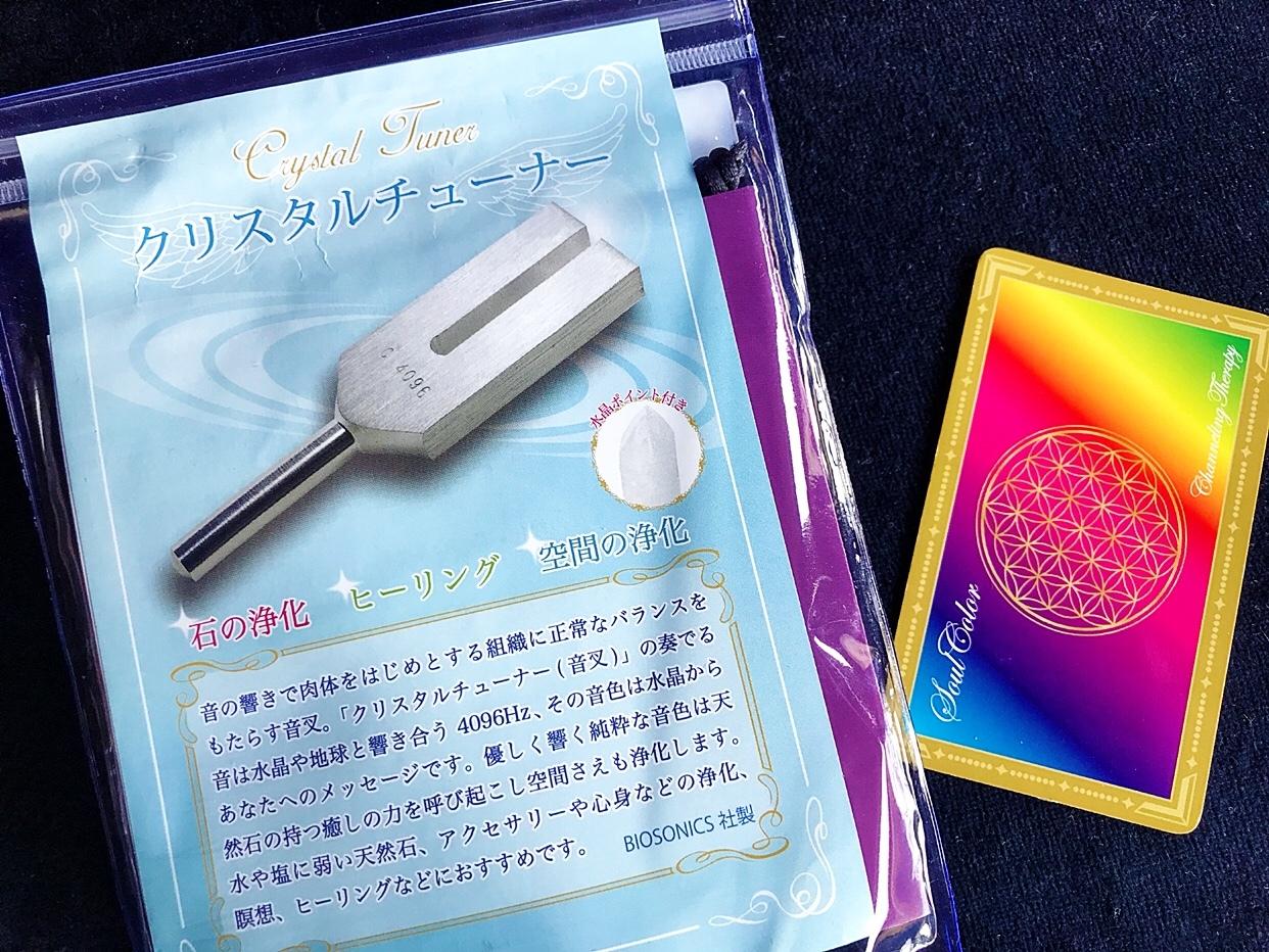 【BIOSONICS社】クリスタルチューナー(水晶ポイント付)