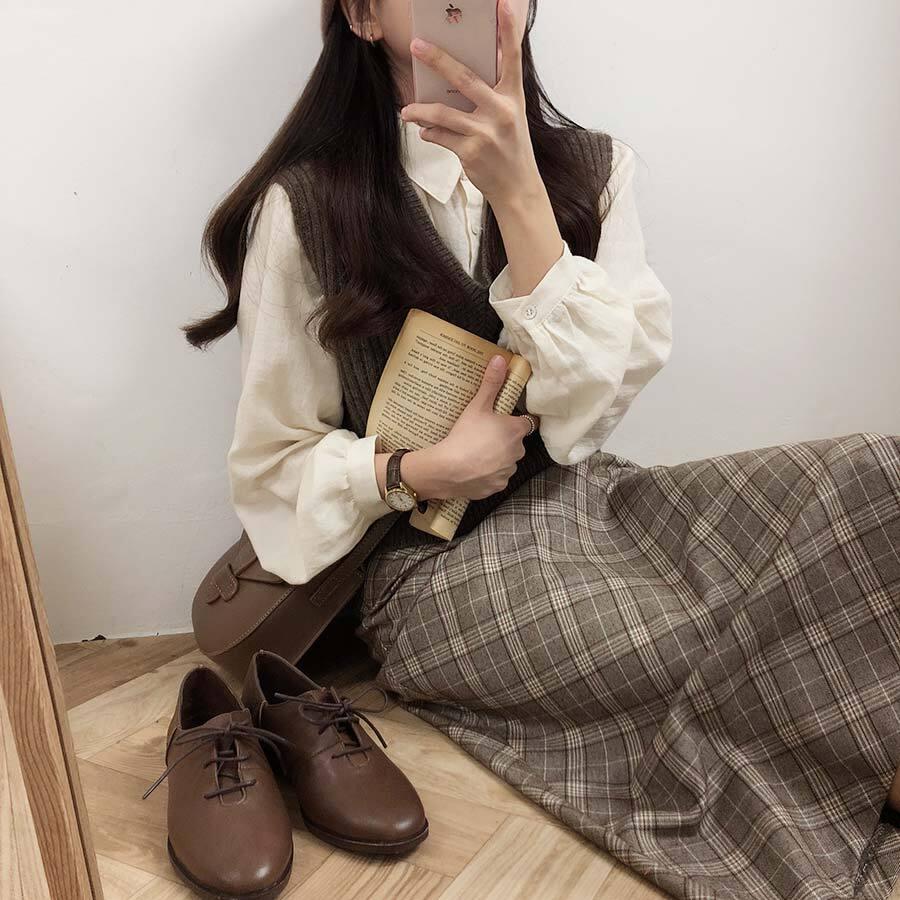 〈カフェシリーズ〉図書館が似合う女学生セット【library student set】