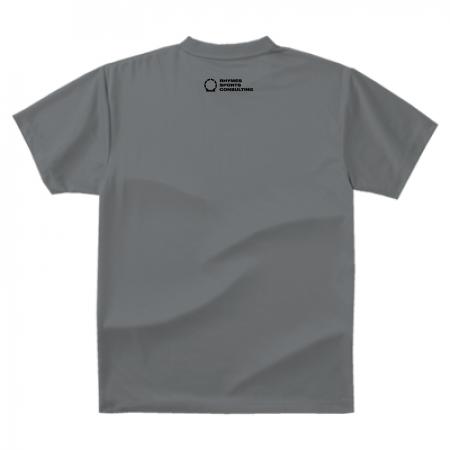 【ダークグレー/ブラック】SHOEHURRY! ドライTシャツ