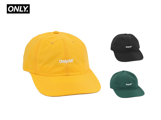 ONLY NY|Nylon Tech Polo Hat