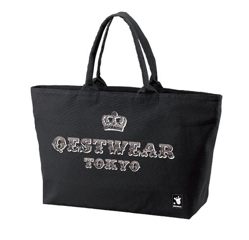 Circus Tote Bag / Black - 画像1