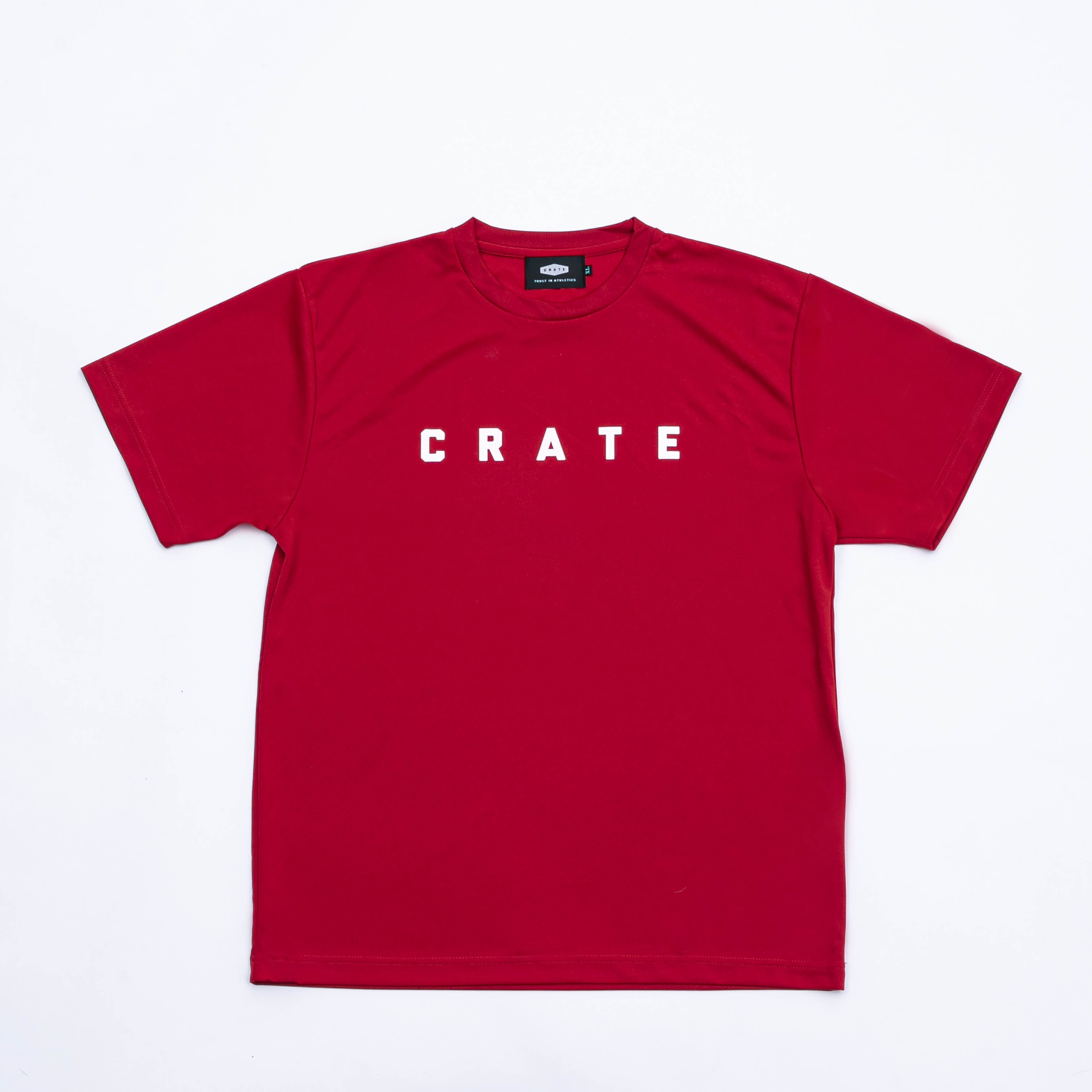 CRATE MESH Tee RED