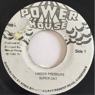 Super Cat(スーパーキャット) - Under Pressure【7'】