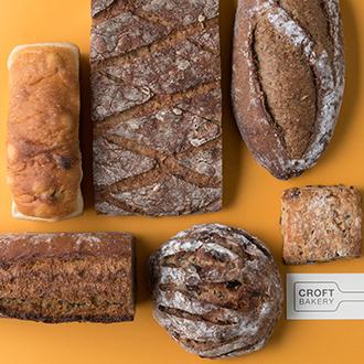 【CROFT BAKERY】長い夜の会話のお供に~畑の見える6種の新麦パンセット