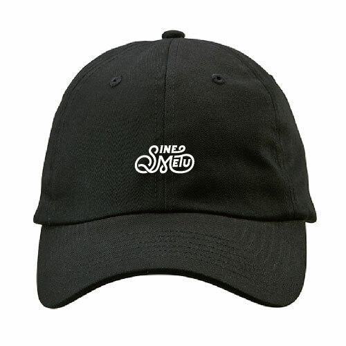 ロゴキャップ / ブラック | SINE METU - シネメトゥ