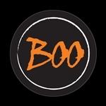 ゴーバッジ(ドーム)(CD0759 -Seasonal Halloween Boo) - 画像1