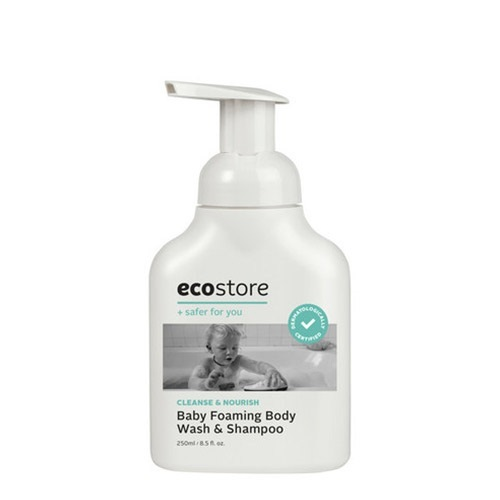 【ecostore】ベビーフォーミングウォッシュ <全身泡シャンプー>250mL