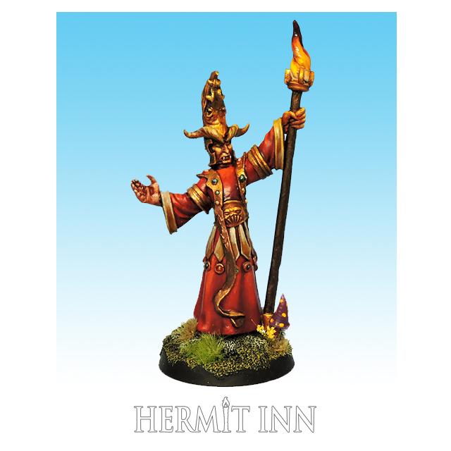 深淵の妖術師:浄化の炎を操るもの - 画像1