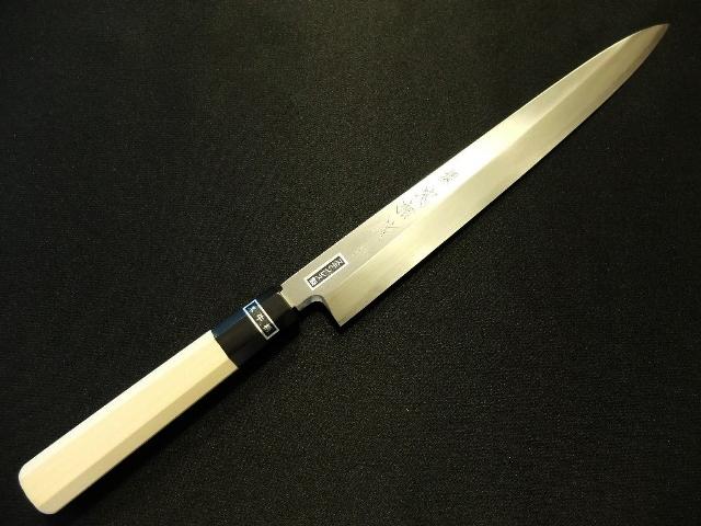 Tadasuke Yanagi Knife Ginsan 240mm TADASYA-014