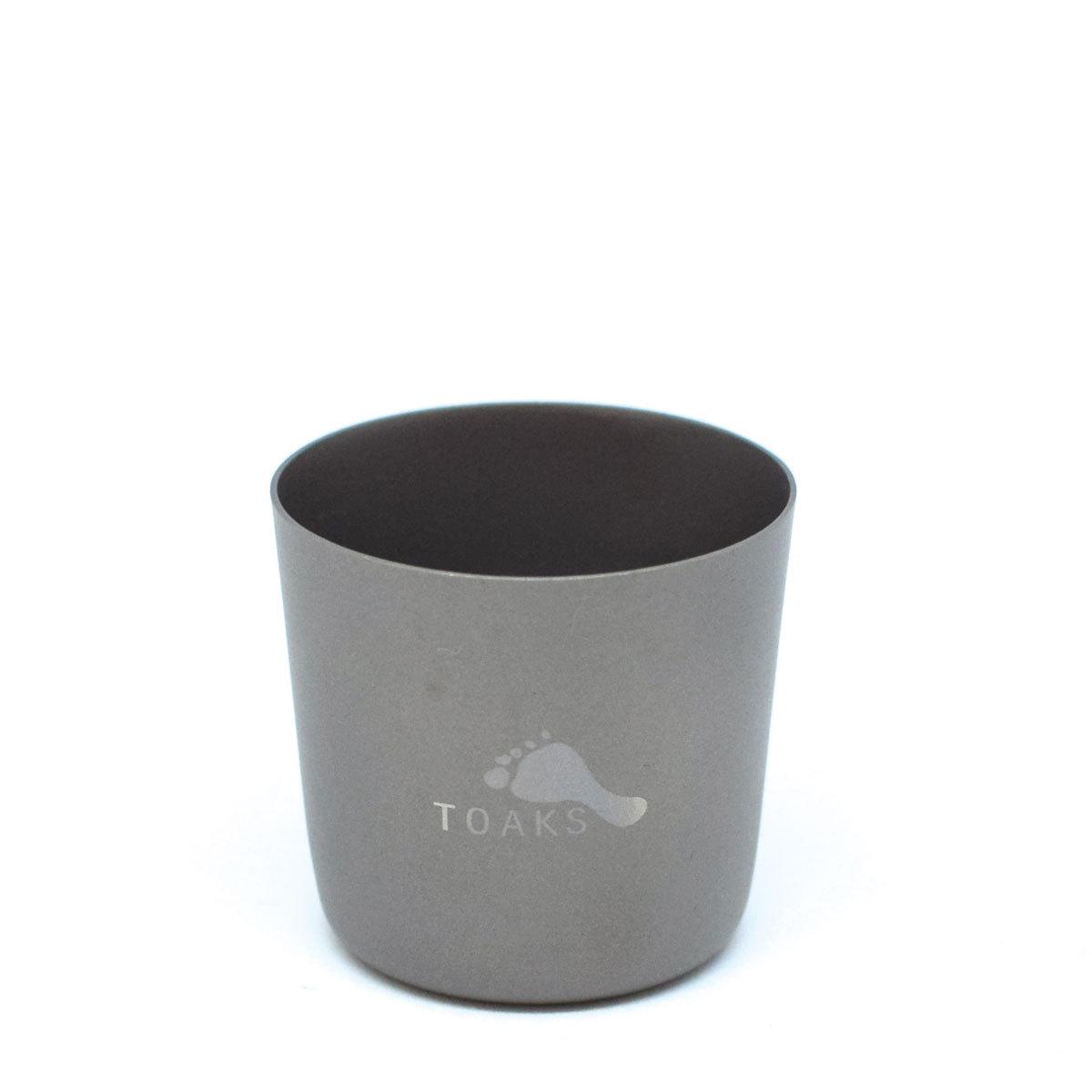 TOAKS(トークス)TITANIUM SHOT GLASS チタニウムショットグラス