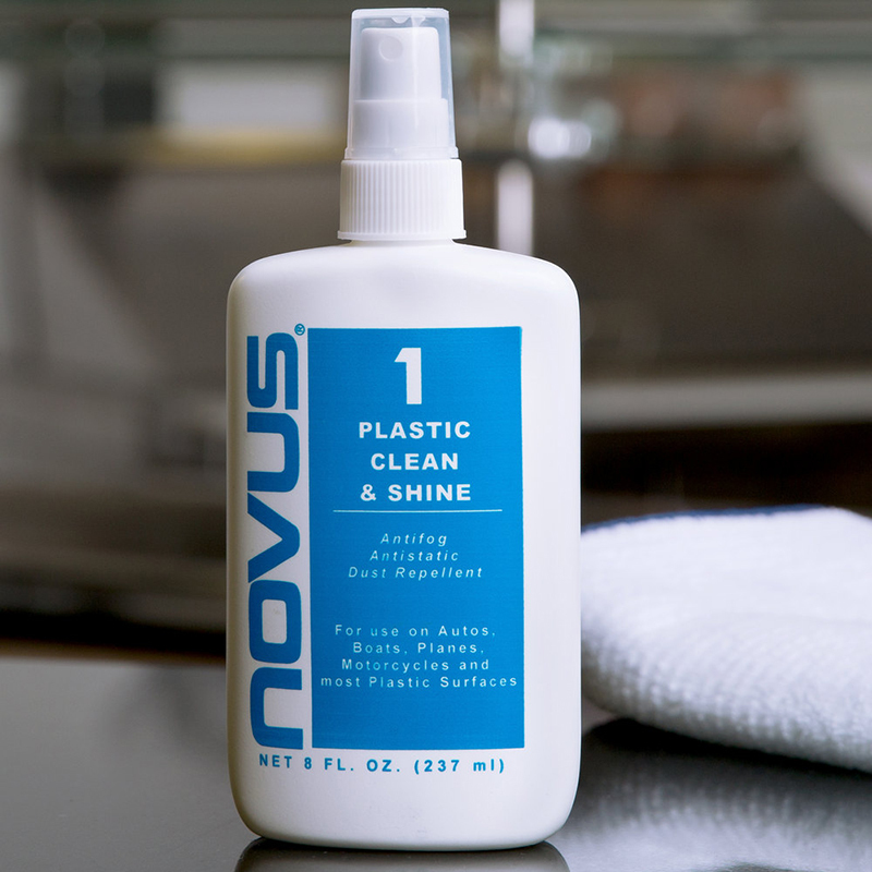 Novu Plastic Clean & Shine