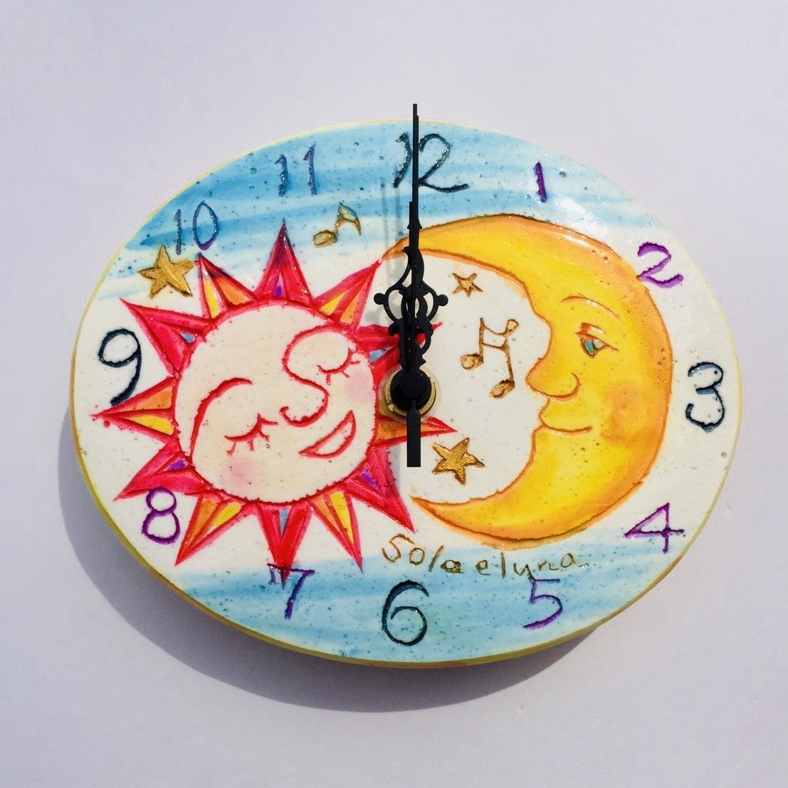 太陽と月(15㎝)