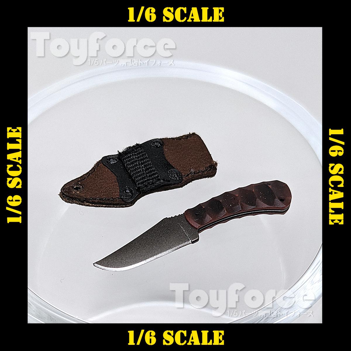 【06978】 1/6 DamToys WK001 ベルトナイフ