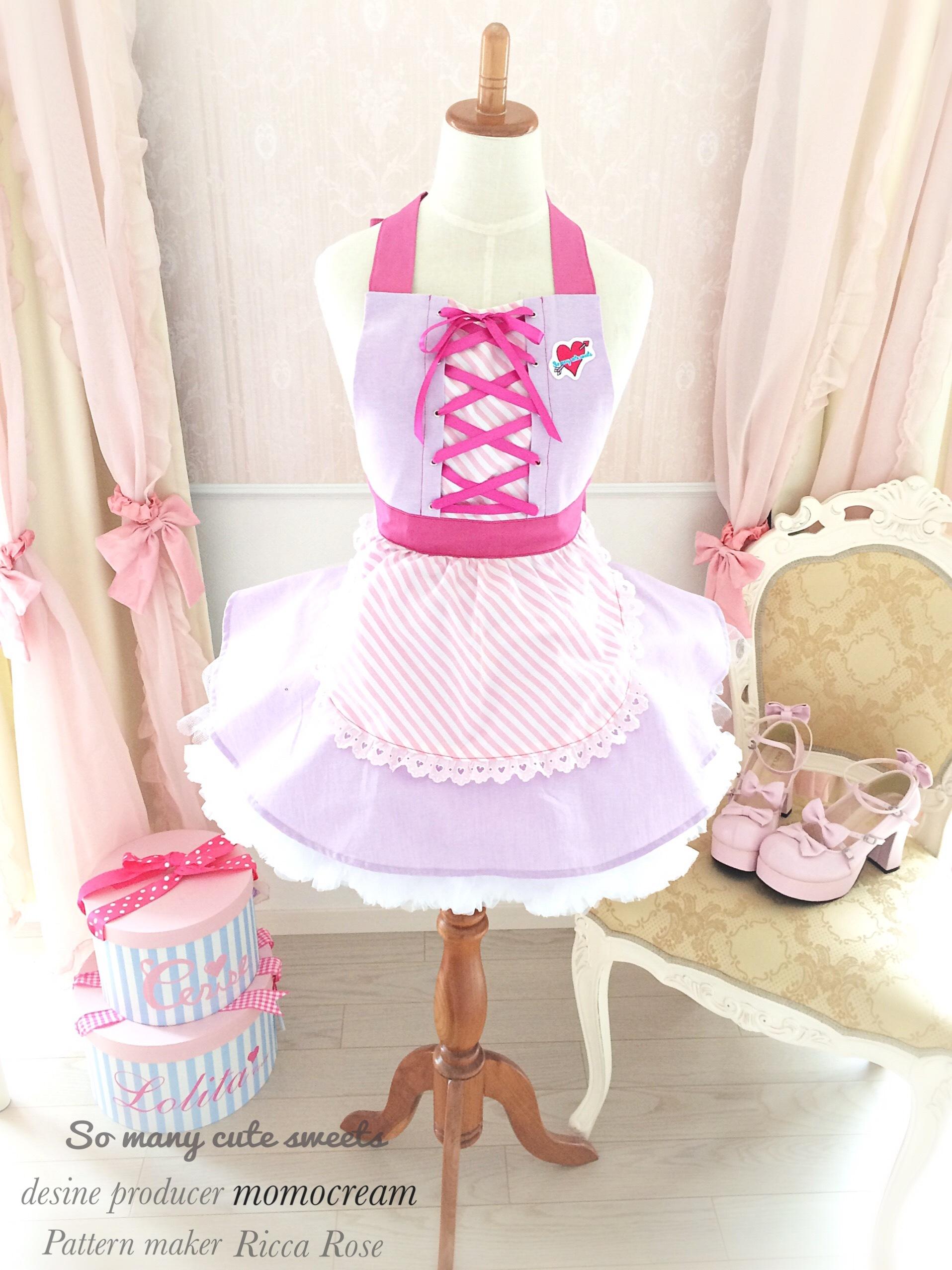 【Sale】再再入荷♡fancy doll apron