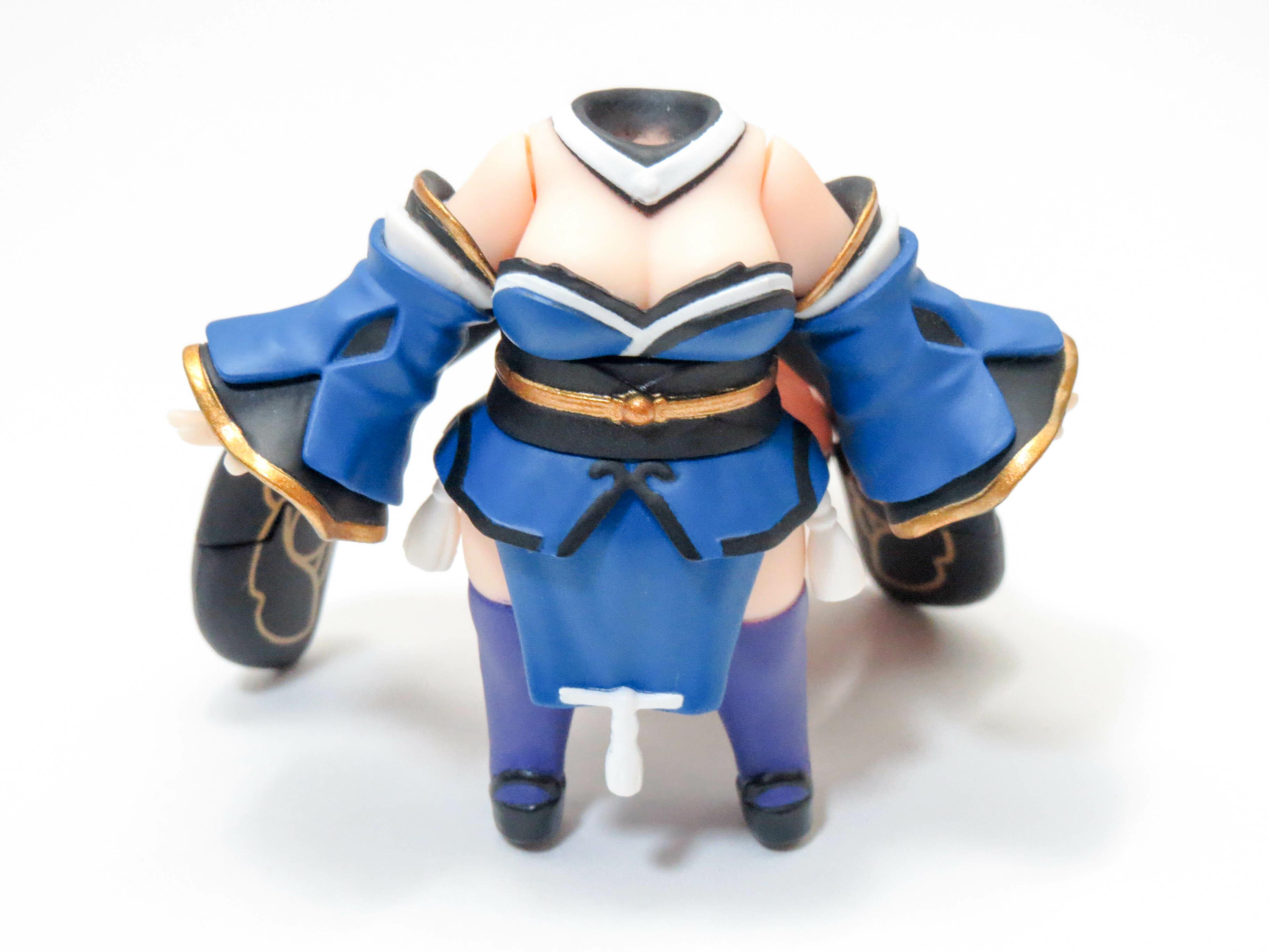 再入荷【710】 キャスター(玉藻の前)  体パーツ 戦闘服 ねんどろいど