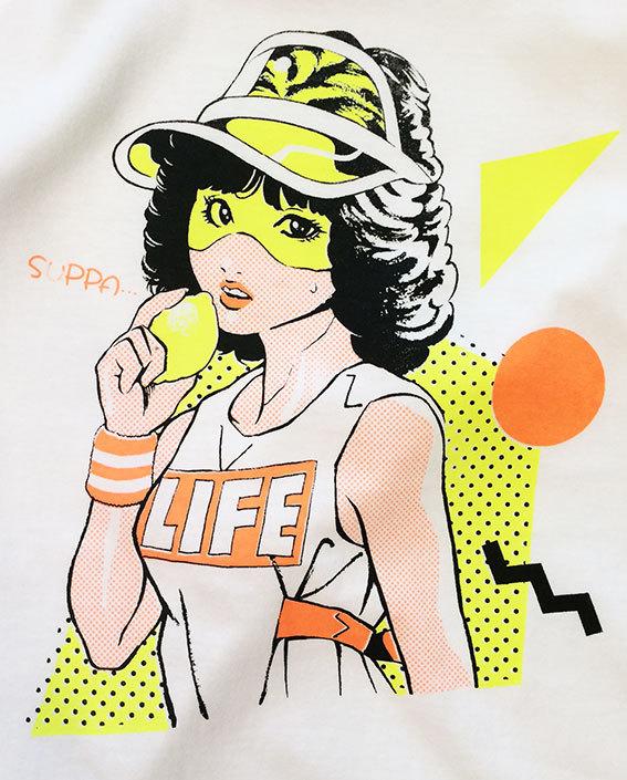 80's SUPPA  TEE