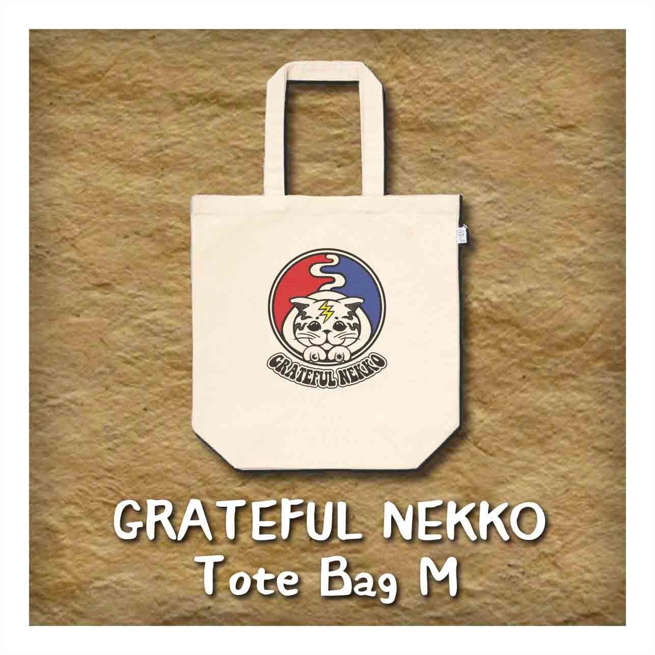 トートバッグM 『Grateful Nekko』