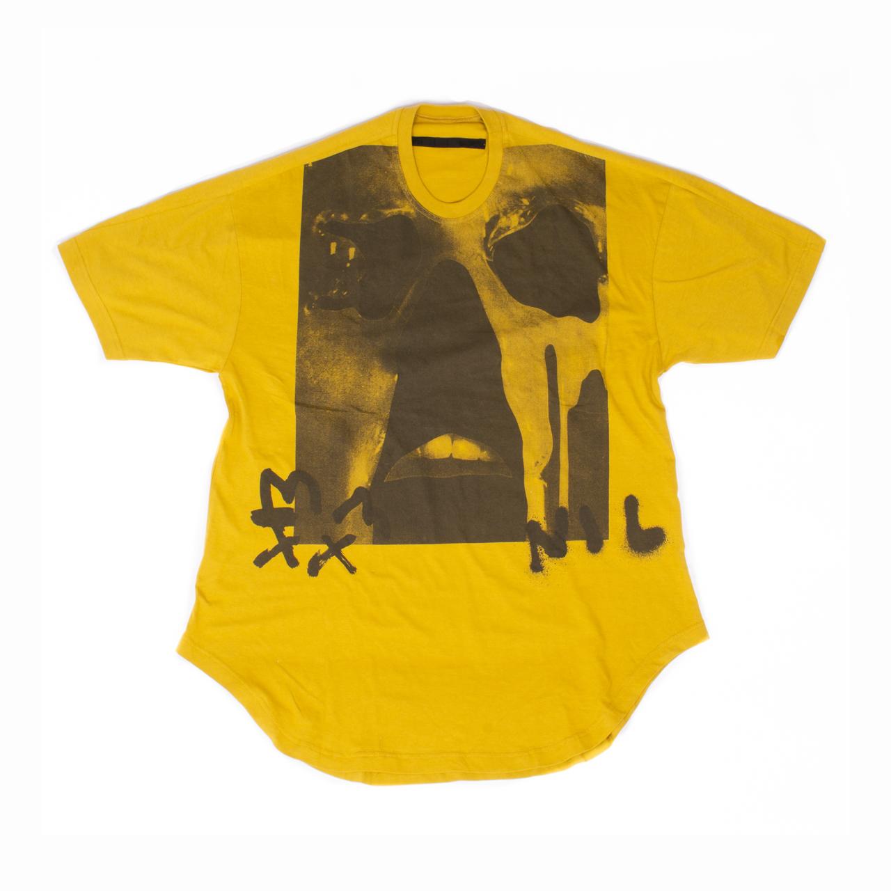 701CPM14-MUSTARD / Jesse Draxler プリント Tシャツ ver.4