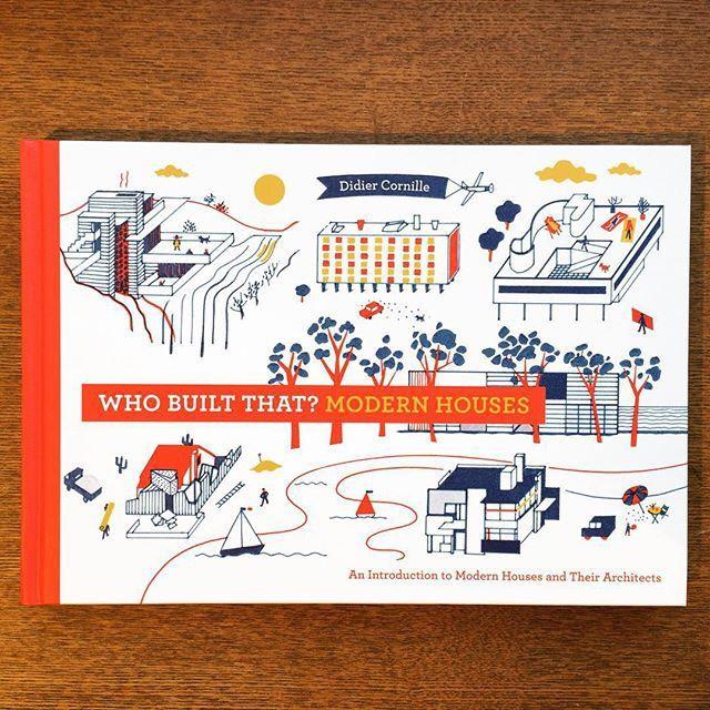 絵本「Who Built That? Modern Houses/Didier Cornille」 - 画像1