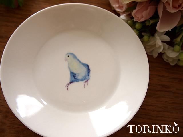 マメルリハ 横向き お皿 中サイズ(鳥・オウム・インコ)