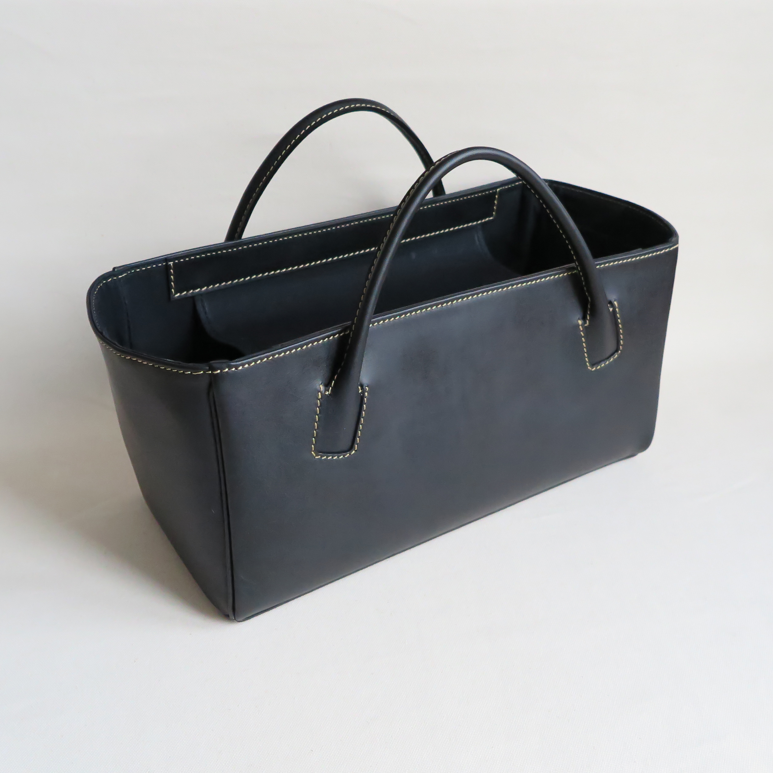 Square box bag BLACK