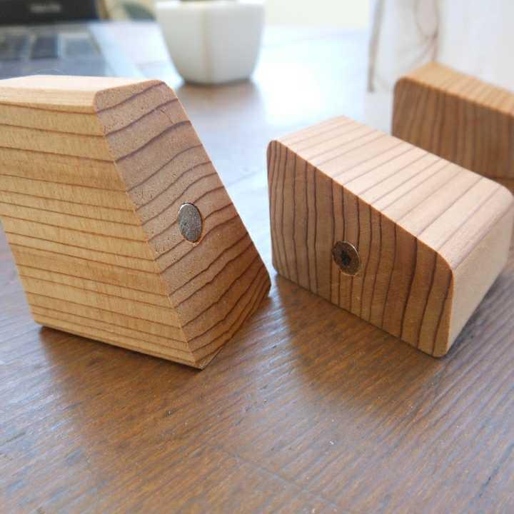 【木製マグネットホルダー02】 - 画像4