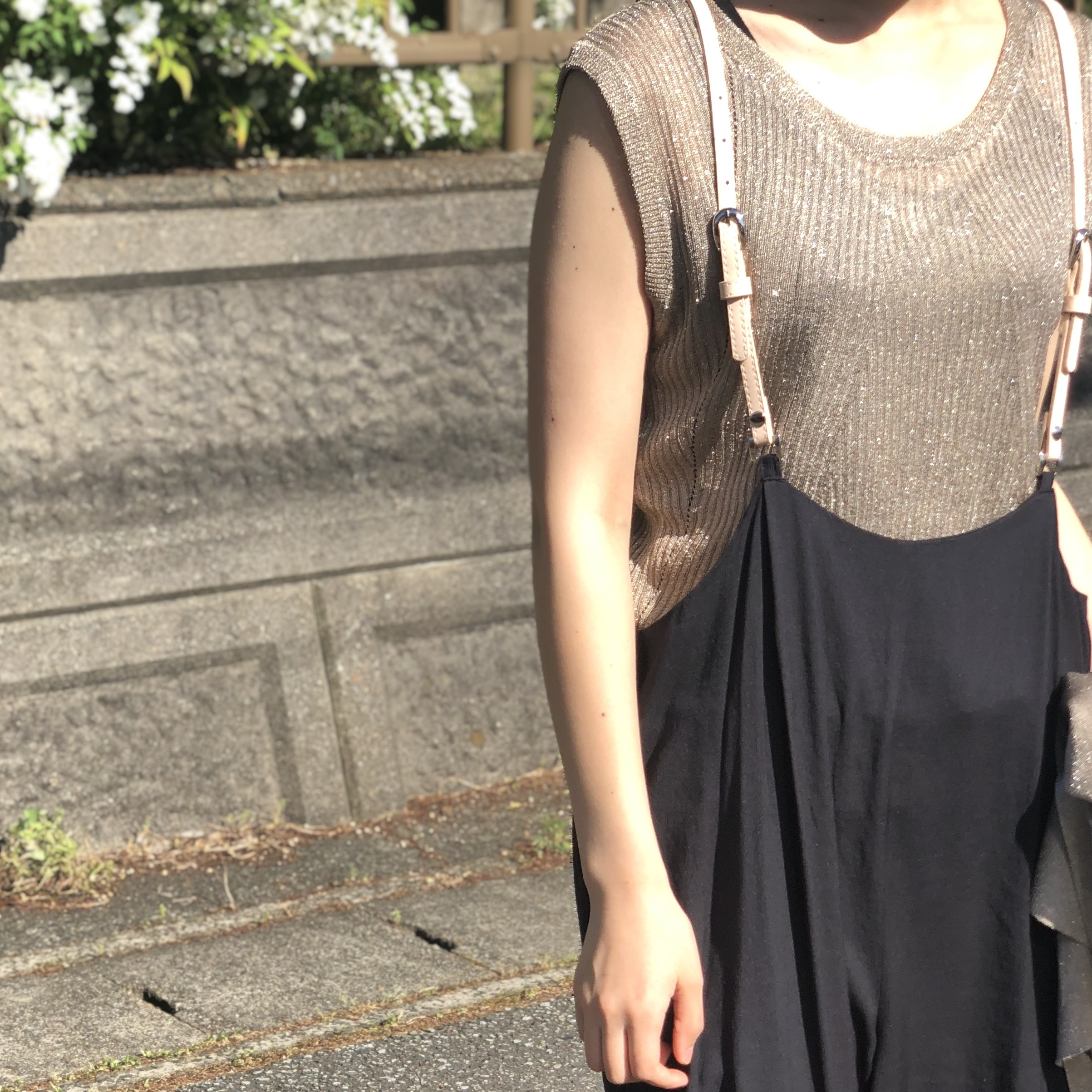 【 CHIGNONSTAR 】- 9101-306 - 2wayラメニットTOPS