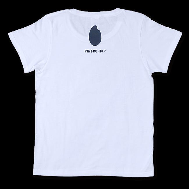 ピノキオピー 銀シャリTシャツ(レディース/白米バージョン) - 画像2