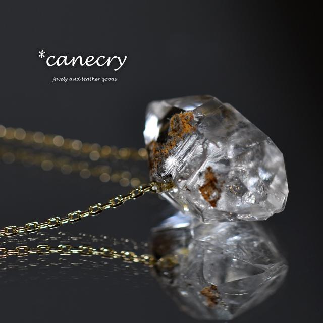 ハーキマーダイヤモンドのネックレス
