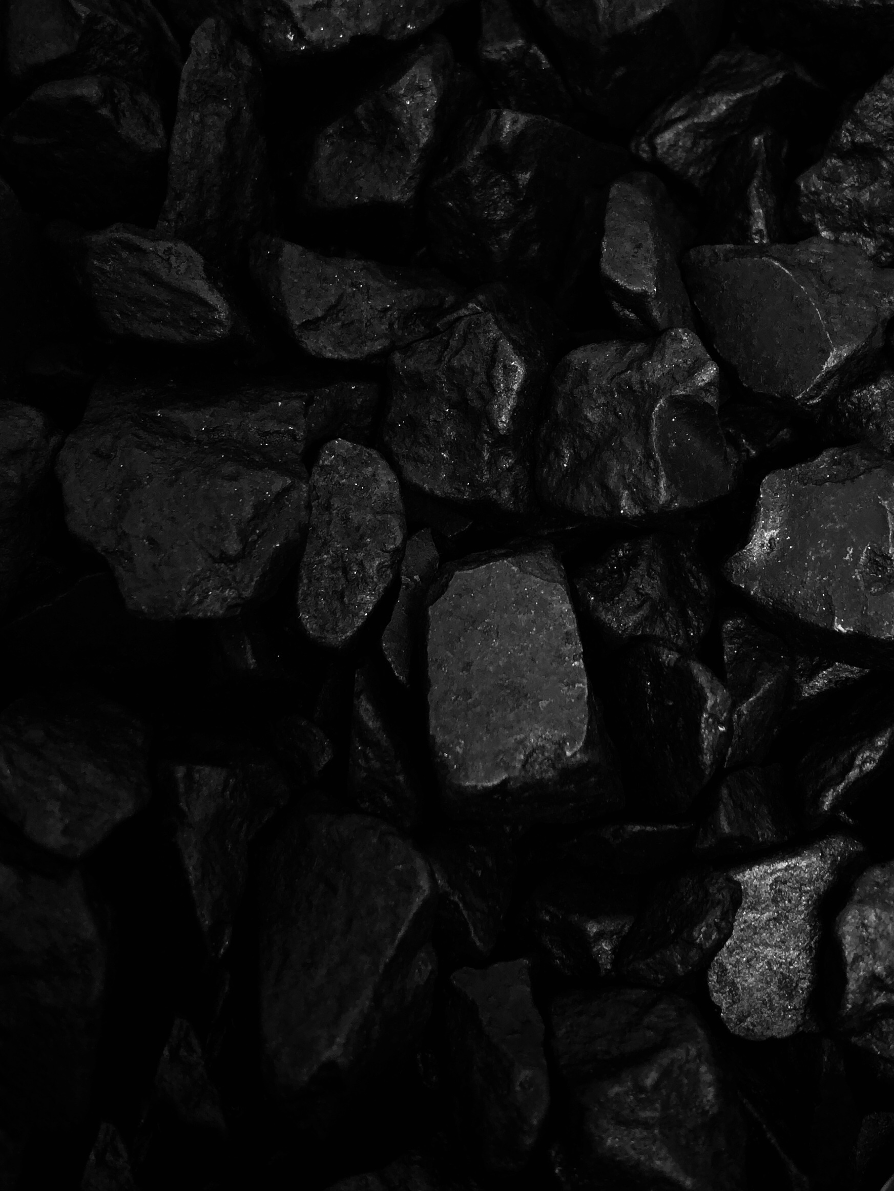 瓦化粧石 黒混1L