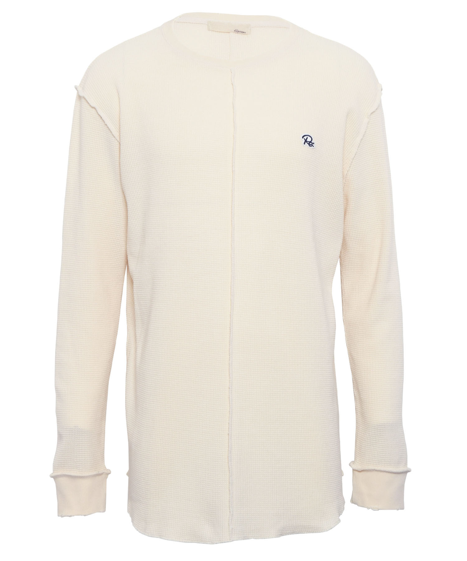 ONE POINT ICON VINTAGE WAFFLE LONG SLEEVE[REC413]