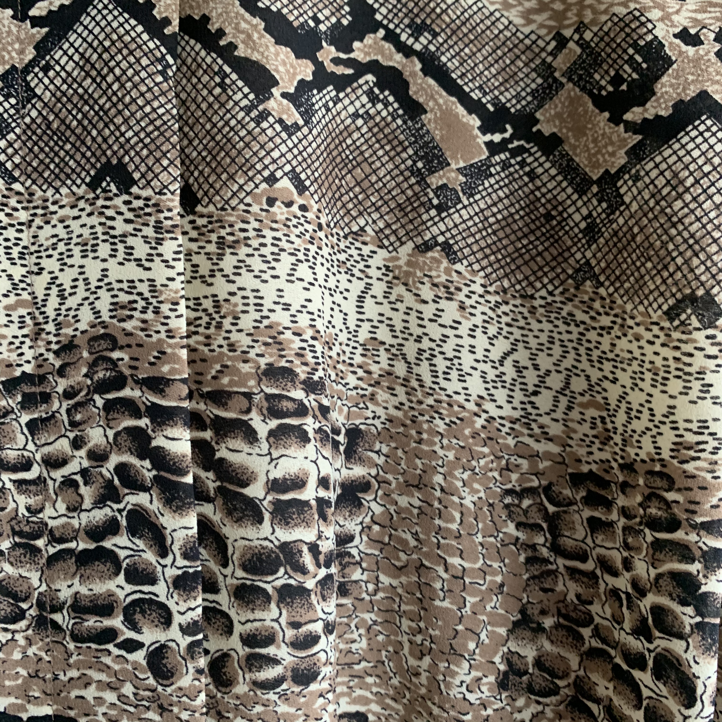 【SALE】vintage snakeskin design onepiece