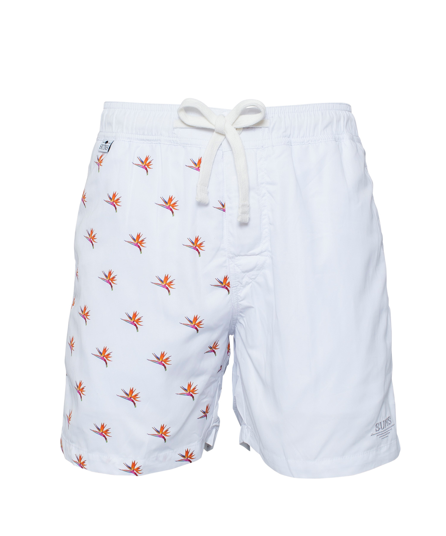 SUNS BIRD OF PARADISE PRINT SWIM SHORTS[RSW003]