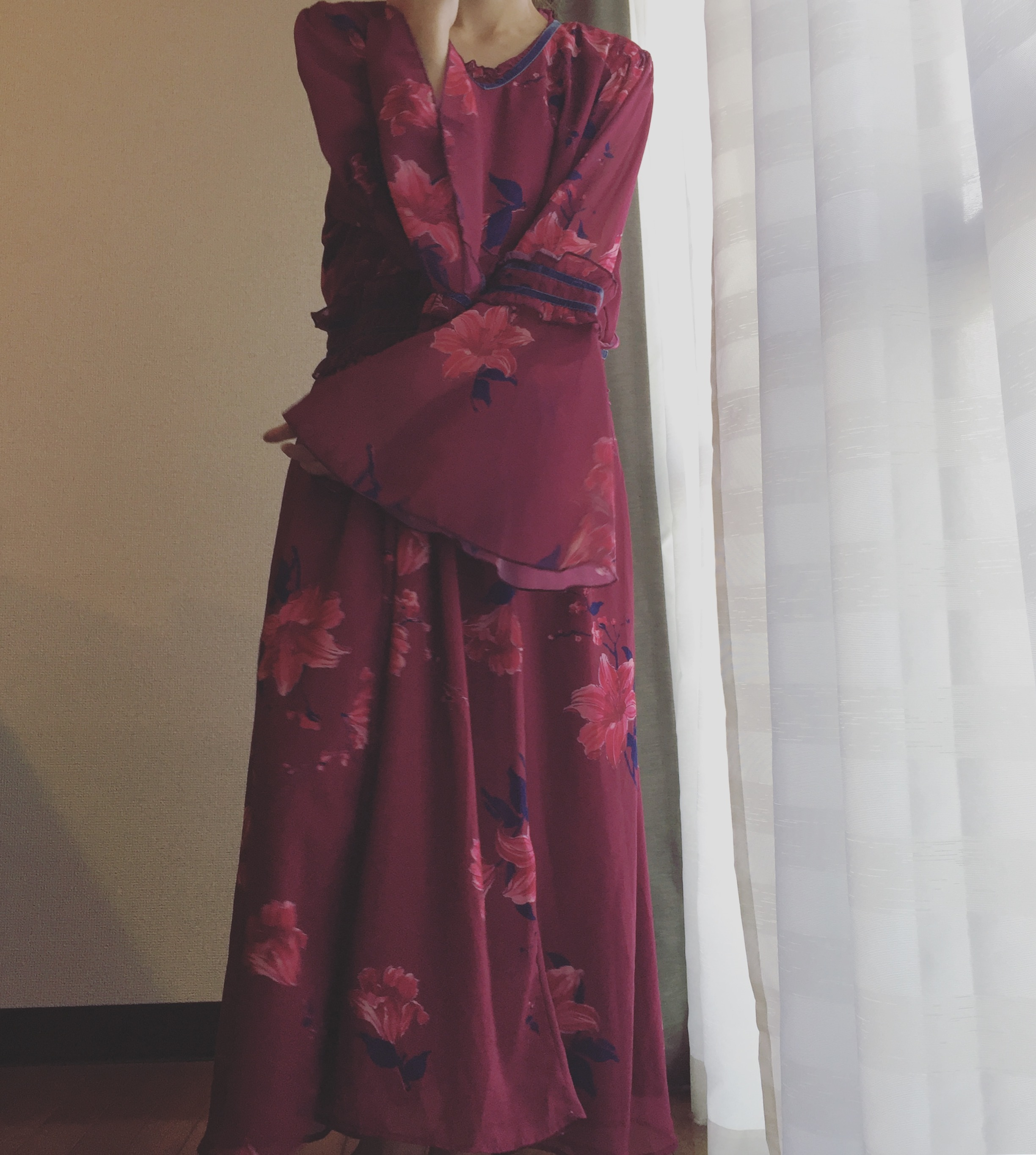 70's vintage Lily onepiece