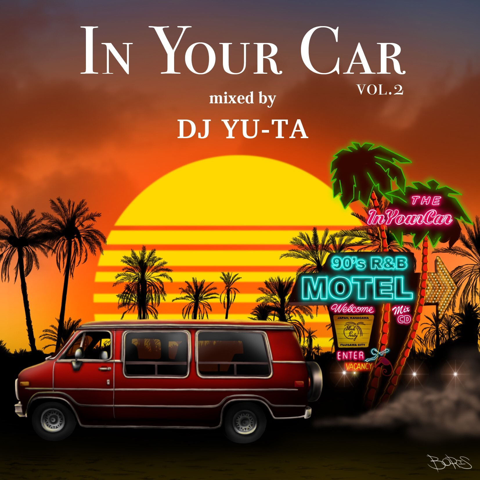 [MIX CD] DJ YU-TA / IN YOUR CAR Vol.2