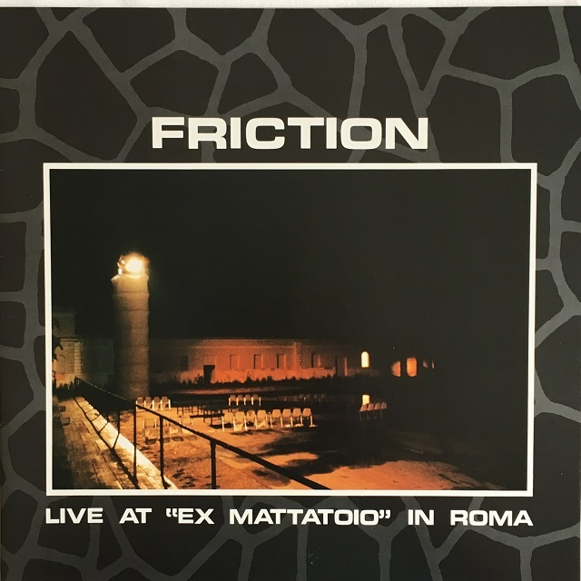 "【LP・国内盤】フリクション / Live at ""Ex Mattatoio"" in Roma"
