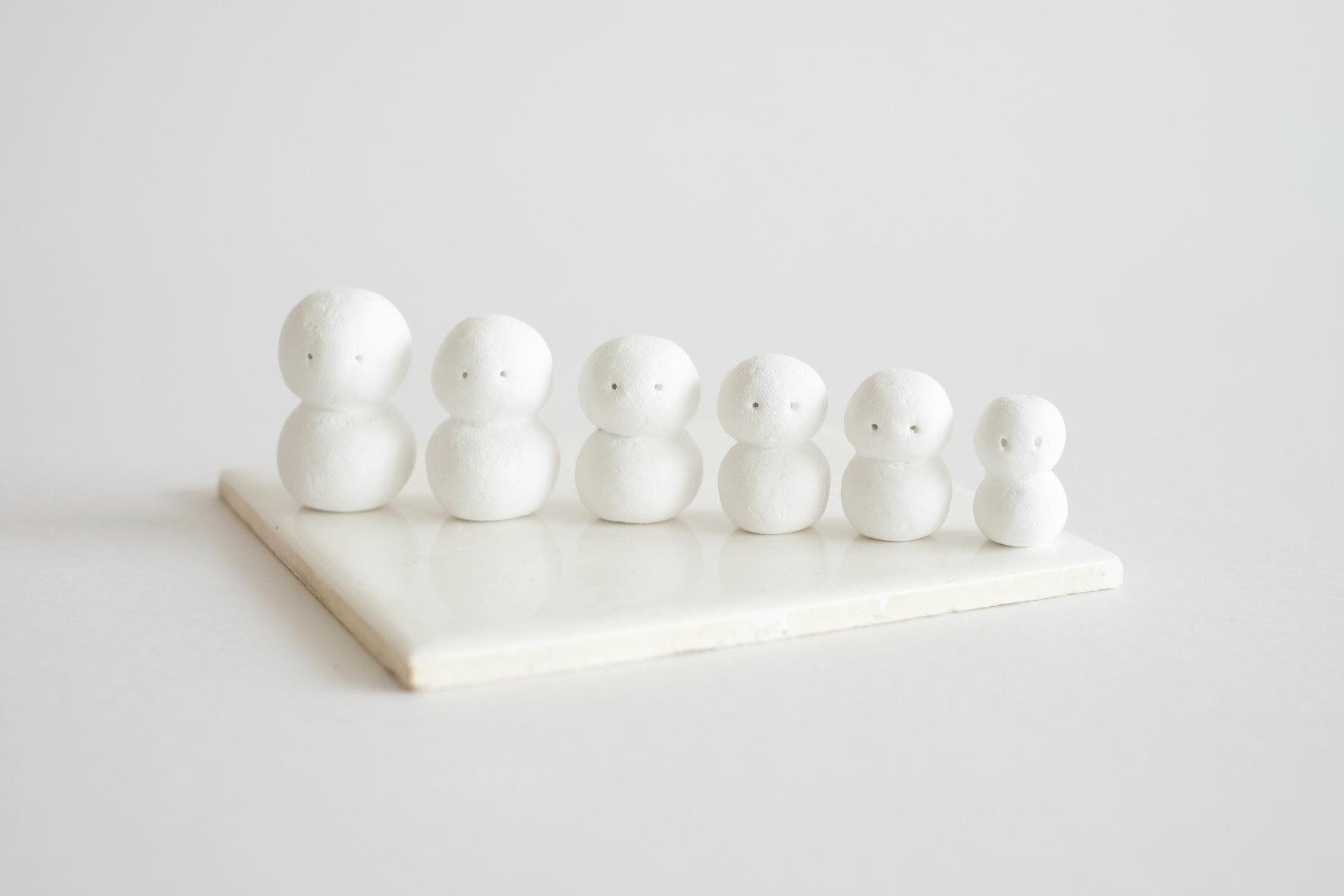 """Snowmen's Game """"溶けてしまうまでのつかの間の遊び"""""""