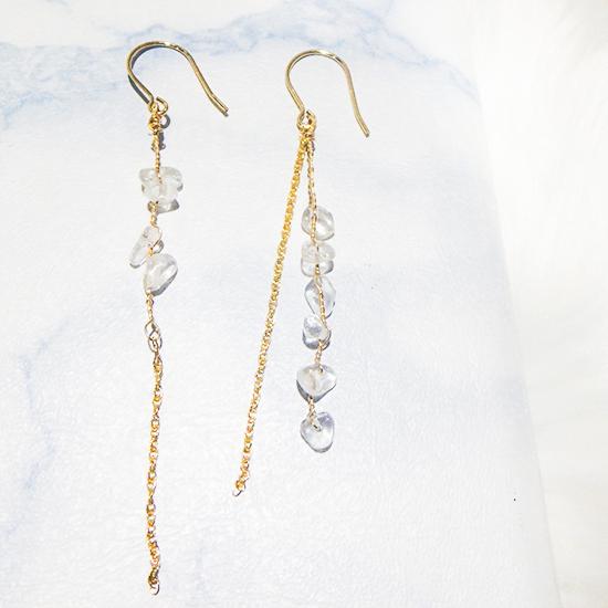 Crystal Twist Chain Pierce
